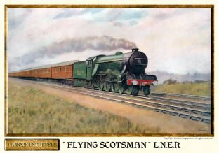 L.N.E.R.The Flying Scotsman Express Steam Train